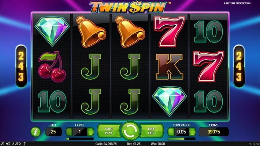 Twin Spinตู้สล็อต